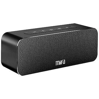 30W prenosný Bluetooth reproduktor, MIFA A20 Soundbox Bluetooth 4.2 TWS & DSP reproduktor Suono Stereo & Bass, 3,5mm audio, Micro SD karta slot, mikrofón pre iPhone iPad Samsung (čierna)
