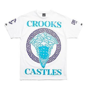 Crooks & Castles Cardinal 2 OVS Tee White