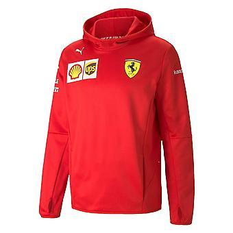 Scuderia Ferrari Kid's Replica Team Hoodie   2021
