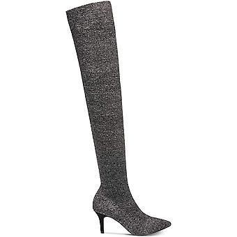INC International Koncepter Womens Briella Stof pegede tå Over Knee Fashion Boots