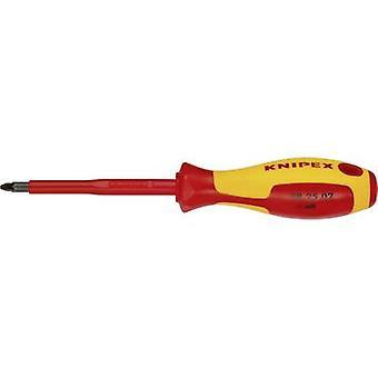 Knipex 98 25 02 VDE Pillips skruvmejsel PZ 2 Bladlängd: 100 mm DIN EN 60900