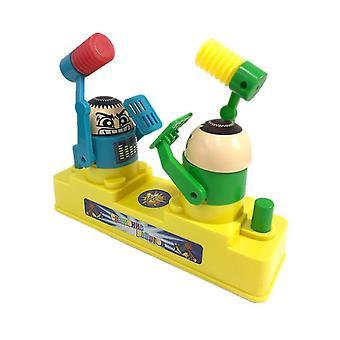 Niebieski i zielony rodzic / dziecko dwuosobowa gra bojowa toy az6822