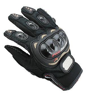 De Handschoenen van de motorfiets
