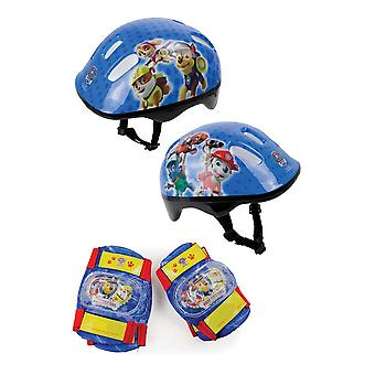 Paw Patrol Helm, Kniepolster & Ellenbogen Pads Schutzpaket