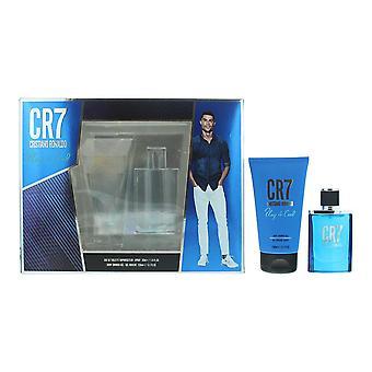Cristiano Ronaldo CR7 Play It Cool Eau de Toilette 30ml & Shower Gel 150ml Set