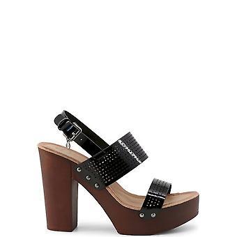 Roccobarocco - Shoes - Sandal - RBSC1YJ02-NERO - Women - Schwartz - EU 36