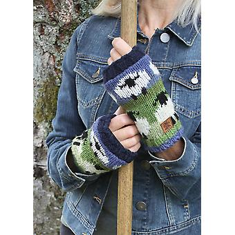 Hand Knitted Flock of Sheep Handwarmers