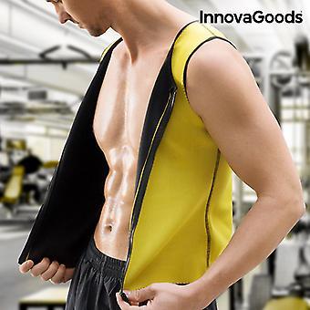 InnovaGoods Sauna Vest de sport pour hommes
