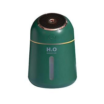 Green 9.6x9.6x13.9cm usb aromatherapy air humidifier homi2591