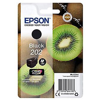 Epson 202 Black Kiwi Genuine, Claria Premium Ink Cartridge, Amazon Dash Replenishment Ready