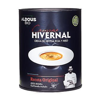 Organic red lentil and miso cream 360 ml of cream