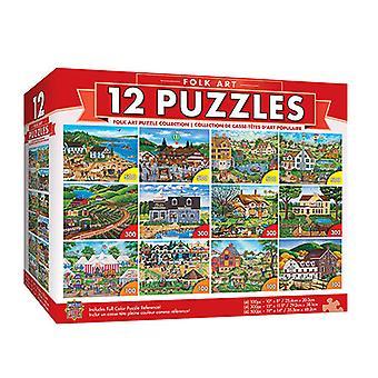 Masterpieces Puzzle (12 Pack Bundle Puzzle)