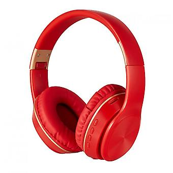 Bluetooth Headphones Over-ear, Foldable Wireless And Wired Stereo Headset Micro