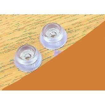Muebles protectores de suelo suaves transparentes almohadillas antideslizantes silla mesa pies patas patas