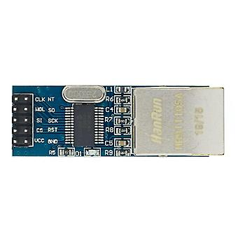 1ks mini enc28j60 lan ethernet síťový modul 25mhz krystal avr 51 lpc 3.3v