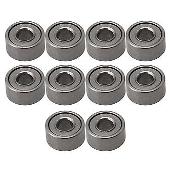 Pulleys, blocks sheaves 10pcs mr52zz metal mini miniature ball bearing bearings 2mmx5mmx2.5mm