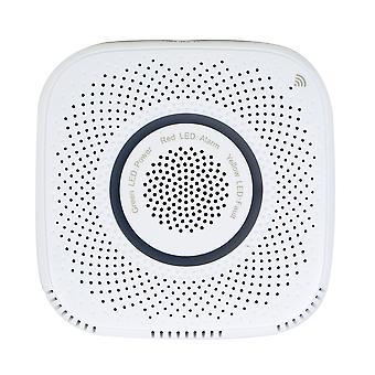 PNI SafeHome PT210G WiFi smart gassensor med röstvarning, Tuya Smart mobilapplikation, integration i scenarier och smart automatisering med andra kompatibla produkter Tuya, Alexa och Google Assistant