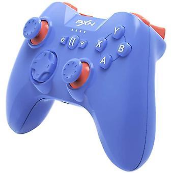 לוח משחק בקר משחקים אלחוטי של כרונוס iOS עם מחזיק טלפון & L3+ R3 Trigger (כחול)