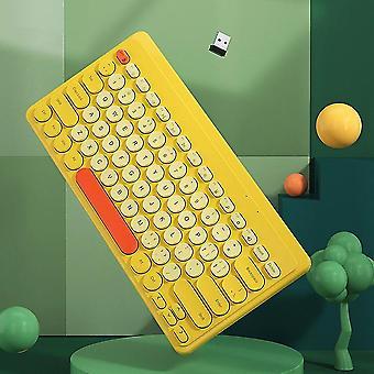 Keyboards qwert for ipad keyboard for ipad air pro 11 12.9 Inch wireless keyboard keyboards yellow