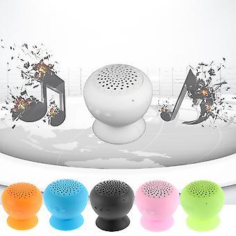 Waterproof Wireless Bluetooth Handsfree Mic Suction Speaker Shower Car Mic