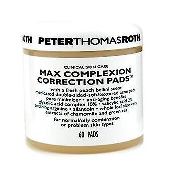 Peter Thomas Roth Max tez correção almofadas - 60pads