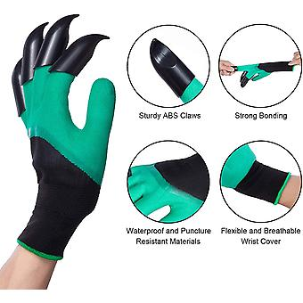 Garden Gloves With Claws, Suitable For Outdoor Digging And Weeding