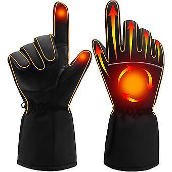 Mănuși încălzite electric, mănuși termice portabile de încălzire a bateriei, ecran tactil impermeabil