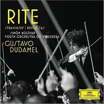 Dudamel/Sbyov - Rite [CD] USA import