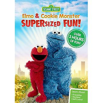 Sesame Street: Elmo & Cookie Monster Supersized [DVD] USA import