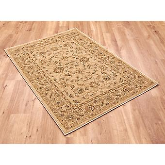 Ziegler 7709-Cream Light beige with  Circle Rugs Traditional Rugs