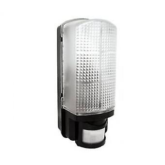 LED Robus Whitestar 60W Black Movement Detection Bulkhead