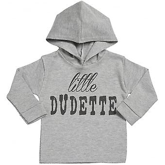 Spoilt Rotten Little Dudette Cotton Hoodie