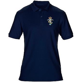 REME königliche elektrische Maschinenbauer Stickerei Logo - offiziellen britischen Armee Herren Poloshirt