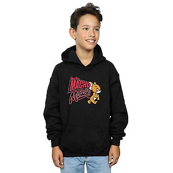 Tom And Jerry Boys Macho Mouse Hoodie