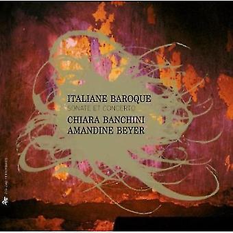 Ensemble 415/Chiara Banchi - Italian Baroque: Sonatas Et Concertos [CD] USA import