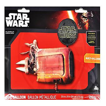 Anagram Star Wars Rey´s Speeder Supershape Balloon