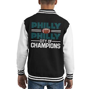 Philadelphia Eagles Philly City Champions lasten yliopistojoukkue takki