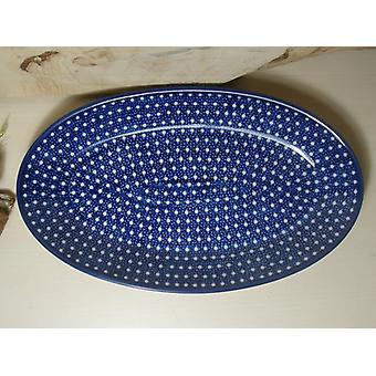Piatto, ovale, 21 x 13 cm, unico 22 - polacco ceramica - BSN 1046