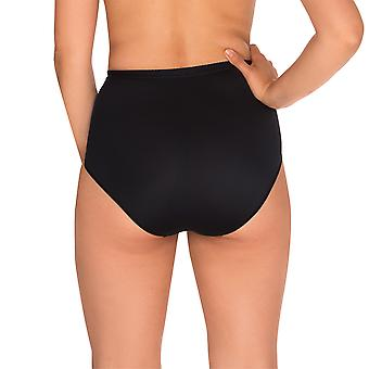 Sans Complexe 1538-Noir Women's Perfect Lift Black Firm/Medium Control Slimming Shaping High Waist Brief