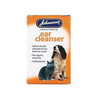 (10 kpl) Johnsonin Vet - korva Cleanser 18 ml: n