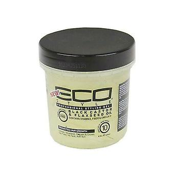 Eco Style Black Castor & Flaxseed Gel 473ml