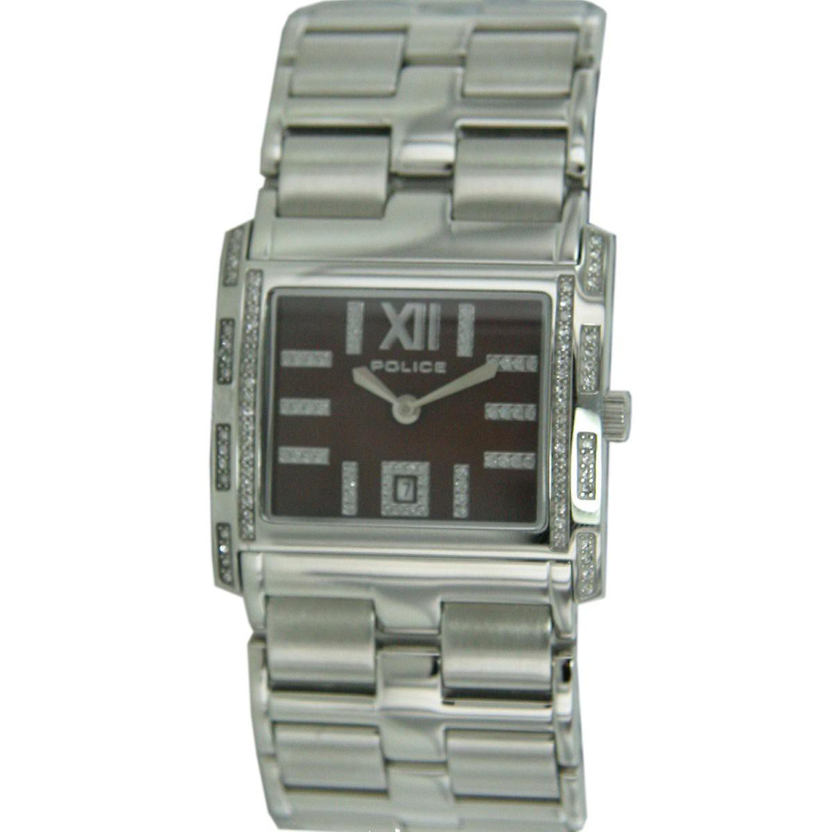 Police Damen Uhr Armbanduhr Edelstahl Analog Belle PL.11183BS/40M