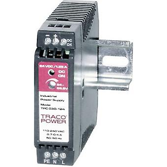 TracoPower TPC 030-124 Rail mounted PSU (DIN) 24 V DC 1.25 A 30 W 1 x