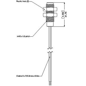 Senzor de conectivitate TE PS 831 PS831 poziția comutator pentru înșurubare în plastic și oțel inoxidabil în mod normal, contact deschis 10 W