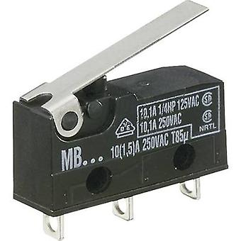 Hartmann Microswitch MBF5B 250 V AC 10 A 1 x On/(On) momentary 1 pc(s)