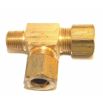 "Big A Service Line 3-171520 Brass Pipe, Tee Fitting Kit 5/16"" x 1/8"""