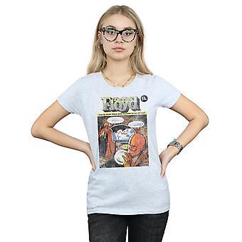 ピンク ・ フロイドの女性コミック カバー t シャツを不良 's