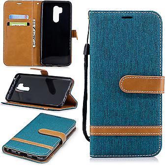 LG G7 telefon komórkowy ochronny pokrowiec pokrywy obudowy komory pola dokonać rezerwacji stylu zielony