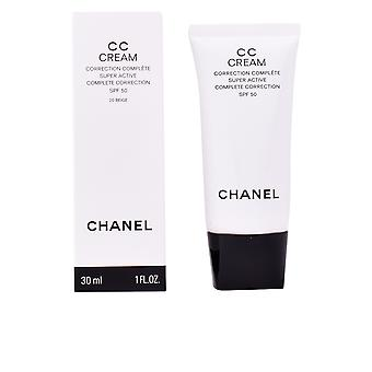 Chanel Cc kerma korjaus Complète Super aktiivinen Spf50 #b40-beige naisille