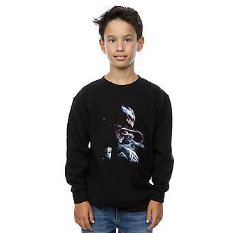 Marvel Boys Venom Painting Sweatshirt